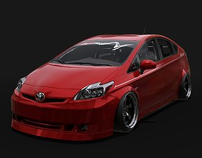 3D asset Vip Style Bodykits for Toyota Prius 2011