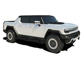 2022 GMC Hummer EV 3D