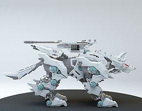 3D Robot guard dog 2