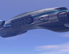3D Exxon Cargo Starship