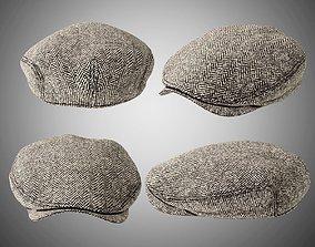 3D MENS FLAT CAP