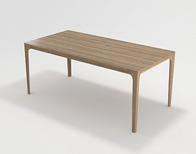 3D model Wooden Dining Table COSINUS by Rolf Benz