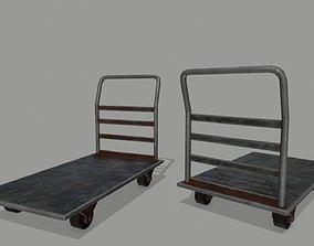 Trolley frame 3D model realtime