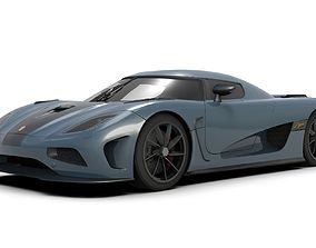 Koenigsegg Agera Supercar 3D model