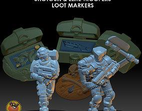 3D printable model Space Pirate Trooper Bundle