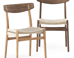 CH23 Chair by Carl Hansen and Son 3D