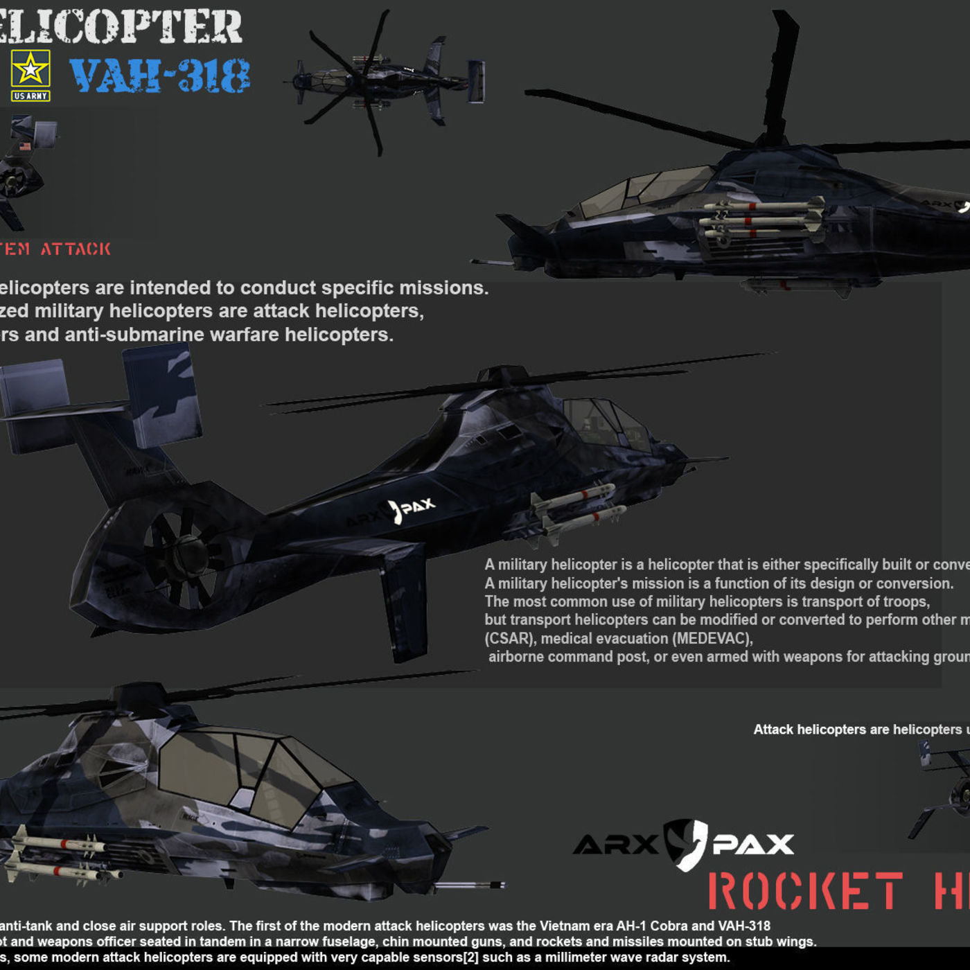 Military System VAH-318 Next project.
