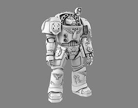 Warhammer 40k Terminator 3D model