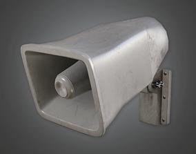 School Announcment System - HSG - PBR Game Ready 3D asset