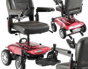 Cobalt x23 power wheelchair model 3D equipment