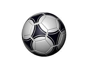 games 3D model Soccer ball