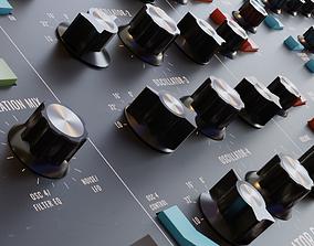 Behringer Poly D - Moog Synthesizer 3D