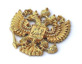 Emblem- Coat of Arms of Russia- 009 3D print model