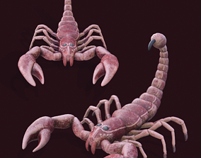 Scorpion Model 3D asset
