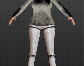 3D model Kathy Yoga 2