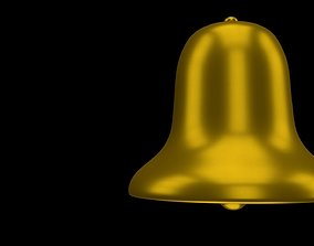 3D model Golden bell