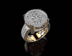 3D print model Mens Gold Rings With Rings Mens Diamond 2
