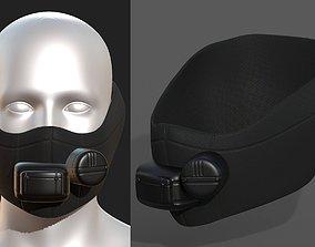 VR / AR ready Gas mask respirator 4