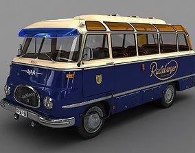 ROBUR LO 2500 Bus 1961 3D model