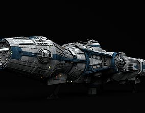 Star Wars Corellian Gunship DP20 3D