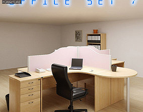 3D model realtime Office Set