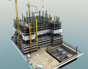 Building Construction Site 3D asset