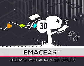 3D asset Nature Project - Environmental Particle Effects