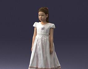 Girl in sundress 0204 3D Print Ready