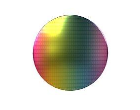 Electronics Wafer v1 001 3D asset
