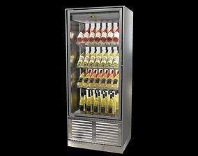 3D model Wine cabinet Enofrigo Enogalax bi-facial version
