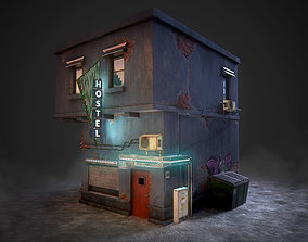 Urban House 3D asset
