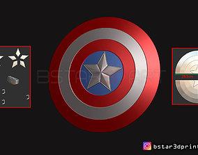 3D print model The captain America Shield - Infinity War 3