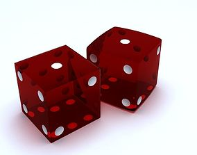 chance 3D model Dices