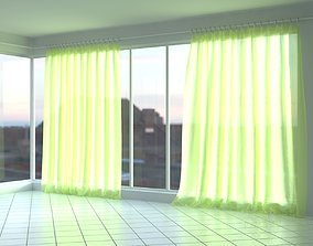 Wide Curtains 3D
