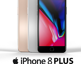 3D iPhone 8 Plus
