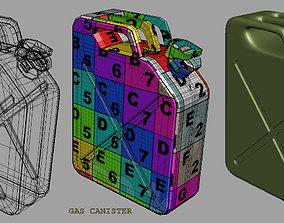 gas canister 3D asset