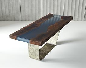 3D model EPOXY RESIN TABLE
