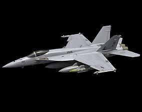 3D model FA-18E Super Hornet