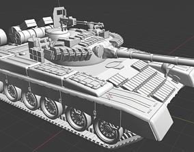 T 80 Russian Tanks 3D printable model