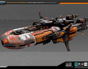 Smuggler Destroyer SM7 3D asset realtime