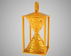3D printable model Hourglass Necklace