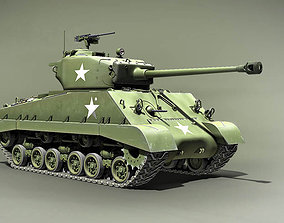 3D Sherman M4A3E8 76 HVSS the Easy Eight USA 1944