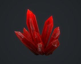 3D asset Crystal 01
