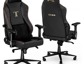 3D Secretlab TITAN 2020 gaming office chair