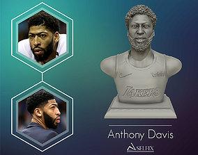 Anthony Davis sculpture model Ready to 3D