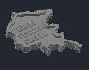 3D print model Regione Friuli Venezia Giulia