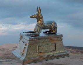 3D Anubis Statue 2
