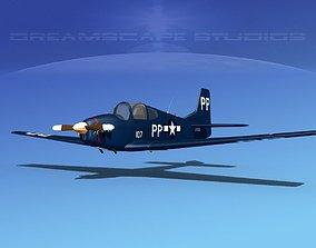 3D model Johnston A-51A V06