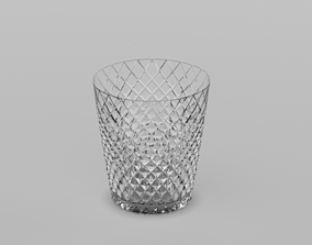Japanese traditional glass cup 3D print model