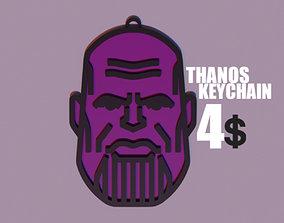 3D printable model Thanos Keychain